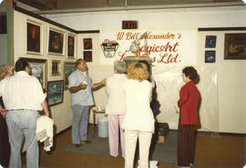 Wonderful World of Art display - W. Bill Alexander's Magic Art