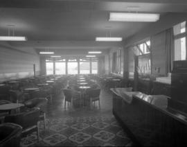 [Interior view of the lounge at the Olympic Hotel]