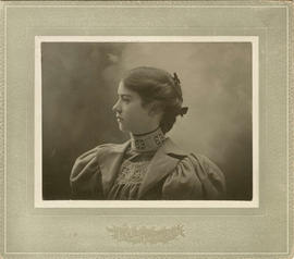 [Head and shoulders portrait of Eva Cooley]