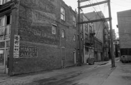 Market Alley, Columbia between Pender and Hastings Streets