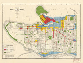 Map of the City of Vancouver
