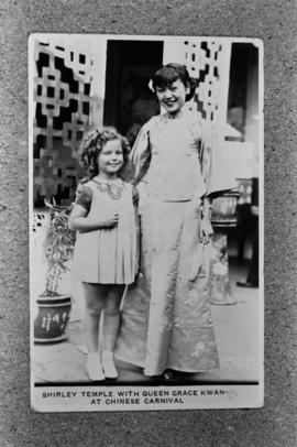 Shirley Temple and Grace Kwan