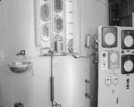 "Instrumentation, control panel and various views of ""C"" pan"