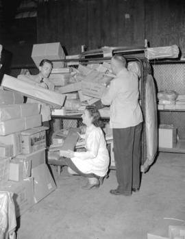 Hudson Bay Company - shipping room