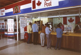 Canada Post display