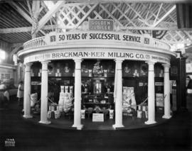 Brackman-Ker Milling Co. display of Purity flour products
