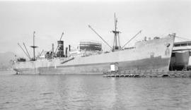 S.S. Clearton [at dock]