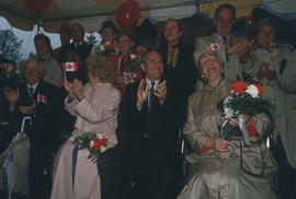 Group of B.C. politicians during the Centennial Commission's Canada Day celebration