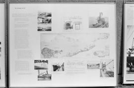 "Close up of display panel  ""Port Development 1914-1933"" for the City of Vancouver Archi..."