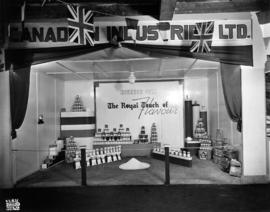 Canadian Industries display of Windsor salt