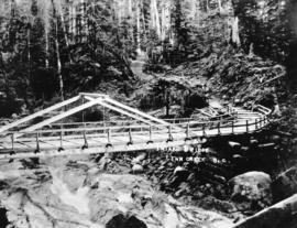 Intake bridge, Lynn Creek, B.C.