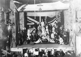 Tableau Representing Great Britain and her Colonies, at Concert Given in Aid of the Widows and Or...