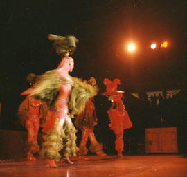 Stage performance in Pacific Coliseum