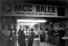 Mennonite Central Committee (MCC) Sales display