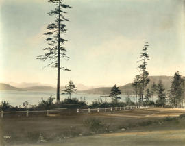 [Photograph of Burrard Inlet taken from Point Grey]