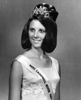 Annie Giasson, Miss Campbell River '65 : [portrait]