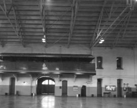 Beatty Street Armoury [620 Beatty Street.  Interior of drill hall]