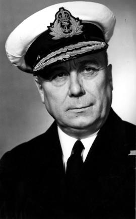 Admiral Victor Brodeur, Commanding Naval Officer Pacific Coast