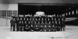 Pilot trainees at Number 4 Service Flying Training School