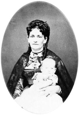 [Mrs. George W. Haynes (nee S. Adelaide Hart) and her daughter]