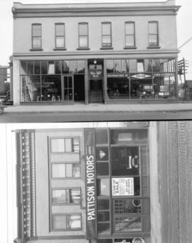 [International Harvester Motor Truck Sales Agency (top) and Pattison Motors Limited (bottom), Gra...