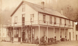 [Exterior of Moodyville Hotel]