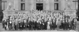 Canadian Bar Association Annual Convention [on steps of Court house] Aug 16-17-18 1922