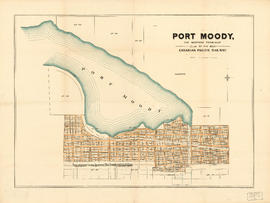 Port Moody, the western terminus of the Canadian Pacific Railway