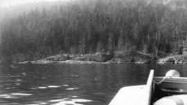 [Apodaca Cove on the east coast of Bowen Island]