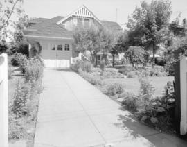 [The rear of] Mrs. W.S. Crowe's house [at 4637 Angus Drive]