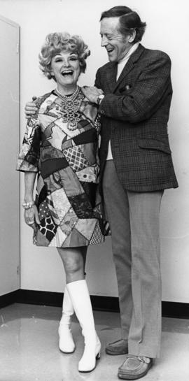 Phyllis Diller [and Hugh Pickett]