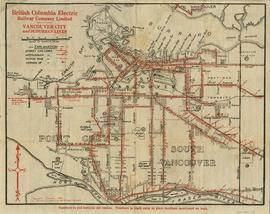 Vancouver city and suburban lines