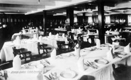 "Dining Saloon T.S.S. ""Cardena"""