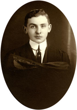 Graduation photo of Sherwood Lett