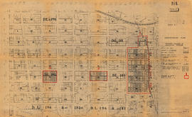City of Vancouver redevelopment : project 1, area A-1 : identification plan : property included i...