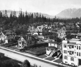 [Houses on the north side of the 1900 Block of Pendrell Street]