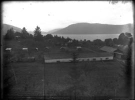 [View of an unidentified farm]