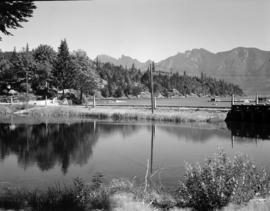 [View of a bay at Bowen Island]