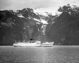"[S.S. ""Chilcotin"" in Gardner Inlet]"