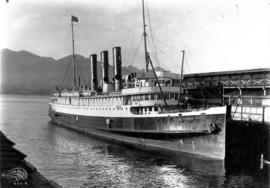 "[The G.T.P. ""Prince Rupert"" at Grand Trunk Pacific Dock]"