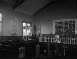 [Interior of Kerrisdale Baptist Church at 5870 East Boulevard]