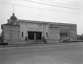 [Exterior view of the King Edward Gymnasium]