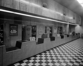 [Interior view of Nelsons Laundry reception and pick up area]