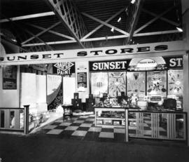 Sunset Stores display of hardware products