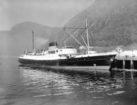 "S.S. ""Chilcotin"" at Ketchikan [Alaska]"