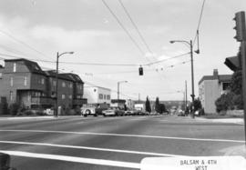 Balsam [Street] and 4th [Avenue looking] west