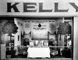 Kelly Douglas and Co. display of Norse Crown Canning Co. products