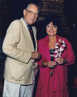 Hugh Pickett and Joy Metcalfe