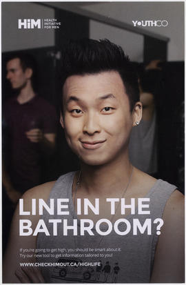 Line in the bathroom? : Health Initiative for Men : YouthCo