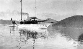 "[Steam yacht ""Aquilo""]"